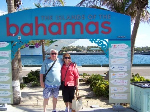 Saying goodbye to The Bahamas!