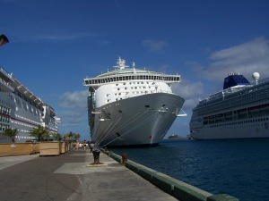 Sitting pretty in Nassau!
