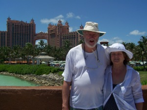 Steve and Janet Wallace take in Atlantis!