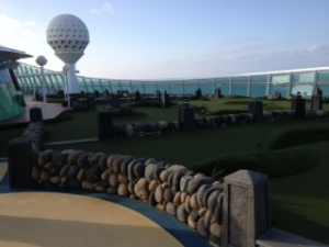 Golf in the middle of the Atlantic anyone?