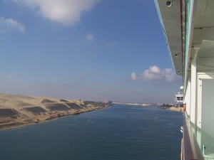 Cruising the Suez Canal