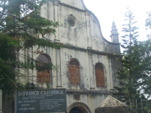 St. Francis Catholic Church in Cochin, India