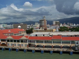 View of Penang from port