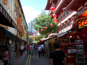Chinatown is a must-see in Singapore