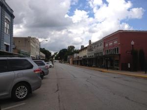 W. Alamo Street in Brenham, TX
